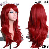 "24"" 60cm  Party  Wig  Synthetic"