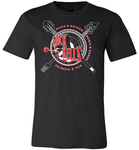 Short Sleeve T-Shirts - Adult - Unisex - Macks Kells Bar And Grill - Official Gear
