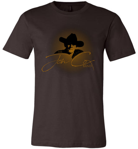 Jon Cox Band - Inaugural T-Shirt!!  LIMITED EDITION! (dark fabrics)