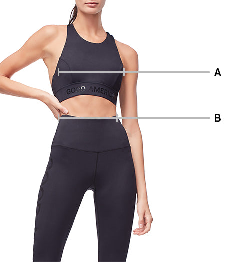 Size Guide Activewear Good American