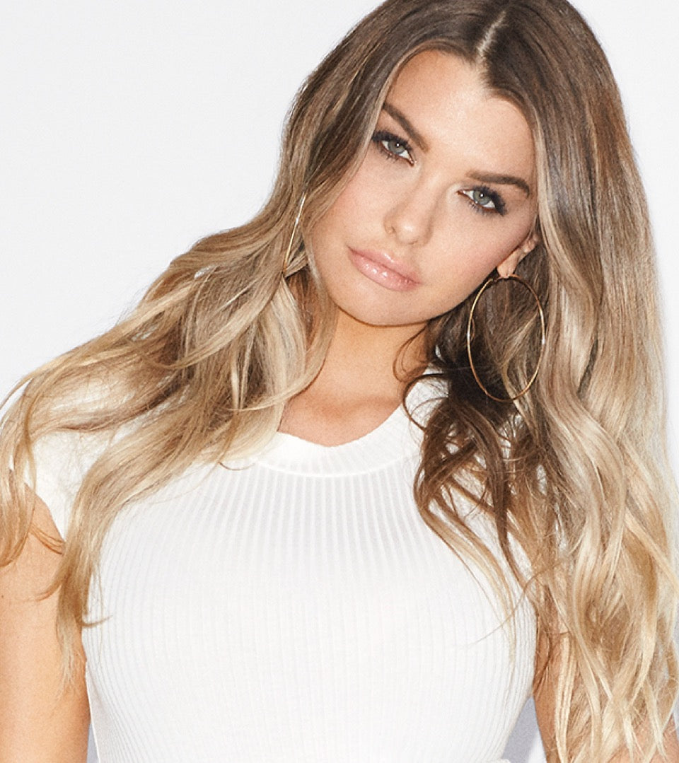 Emily Sears in GOOD AMERICAN jeans