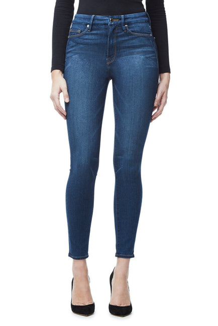 c1d1edd3e209 Good American Super High Waisted Blue013 Jeans