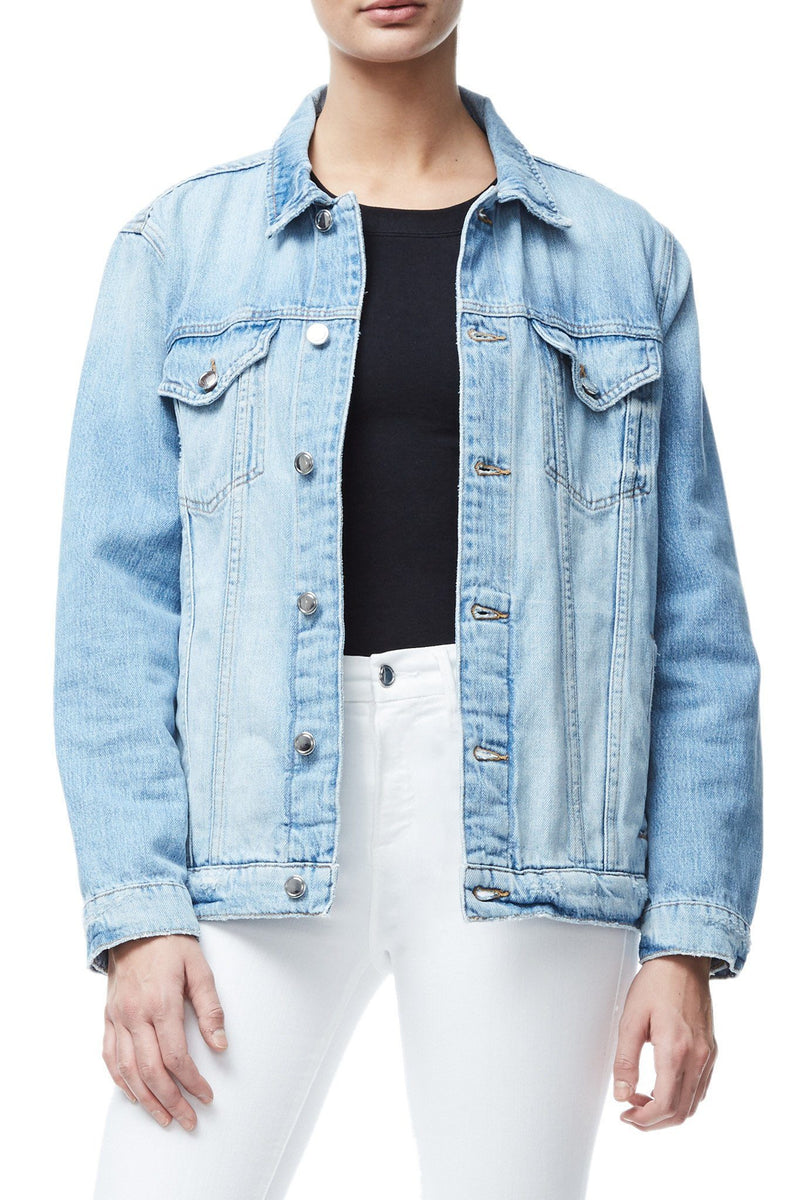 OVERSIZED DENIM JACKET | BLUE035