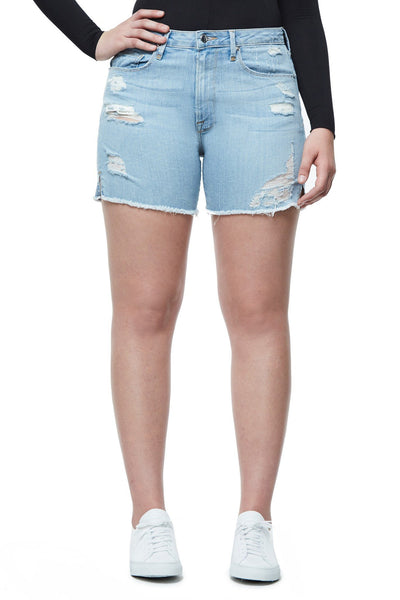 GOOD AMERICAN THE CUT-OFFS | BLUE059 JEAN