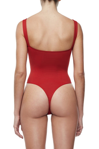 CHUNKY ZIP BODY | RED001