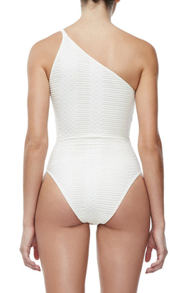 THE ONE SHOULDER BODY | CREME001