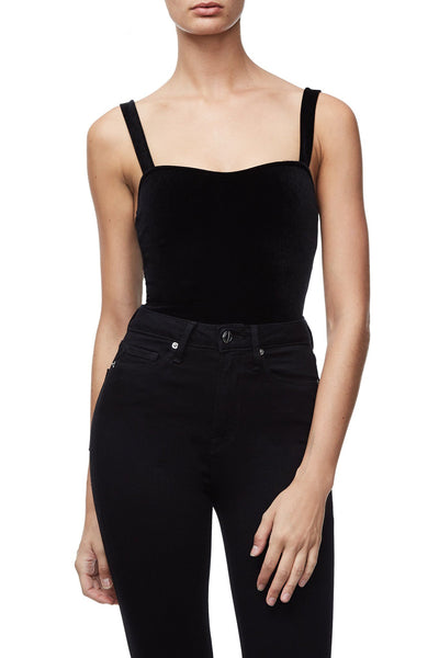 THE VELVET SWEETHEART CAMI | BLACK001