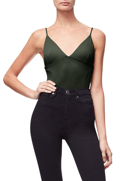THE NOT-SO-BASIC CAMI BODY | OLIVE001