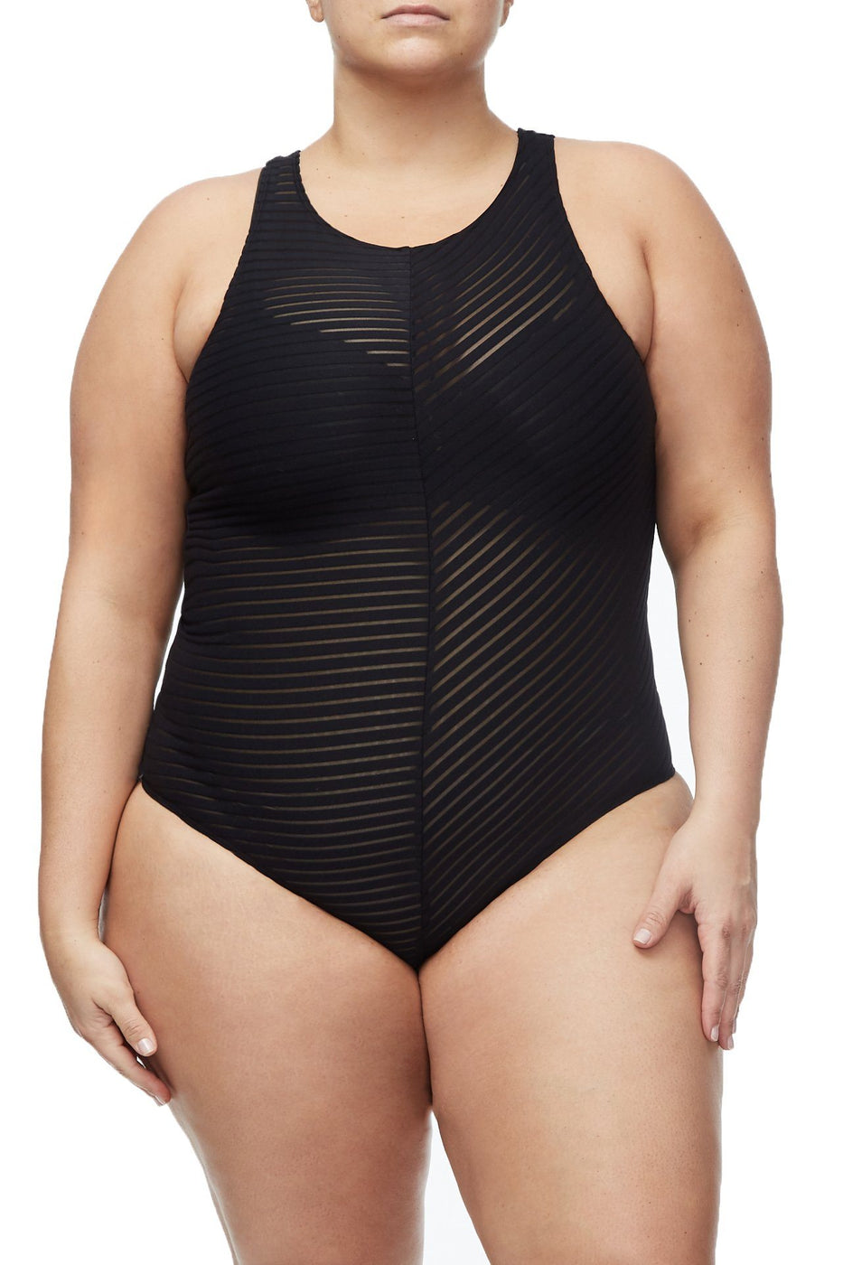 THE BE-SHEER-NOW BODY | BLACK001