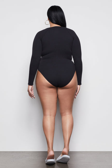 THE FEEL GOOD LONG SLEEVE BODY | BLACK001