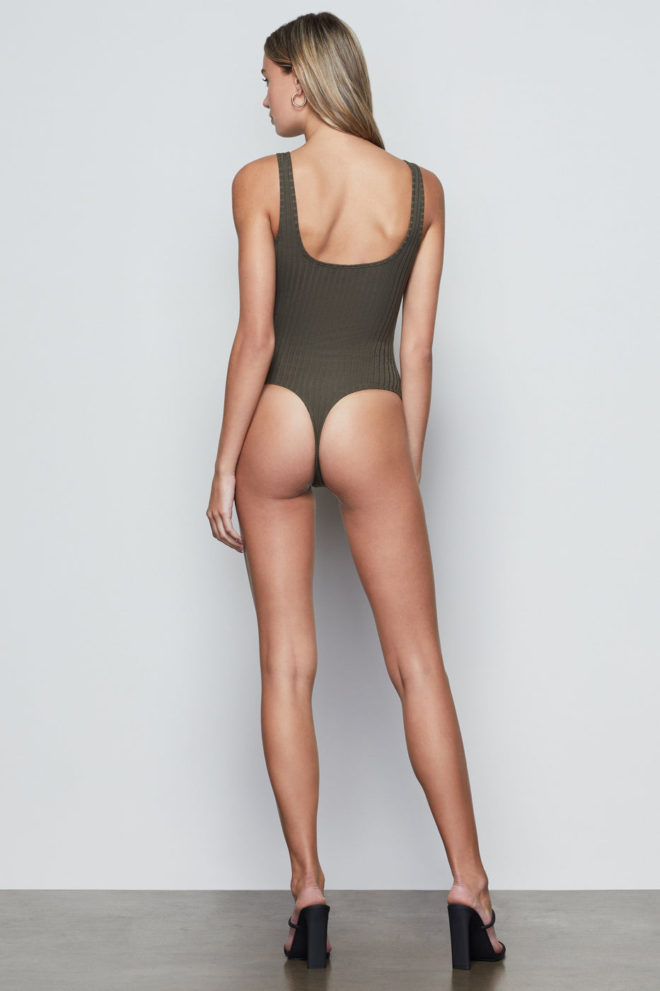 BUTTON FRONT BODYSUIT | SAGE001