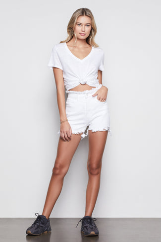 THE BOMBSHELL SHORT | WHITE012
