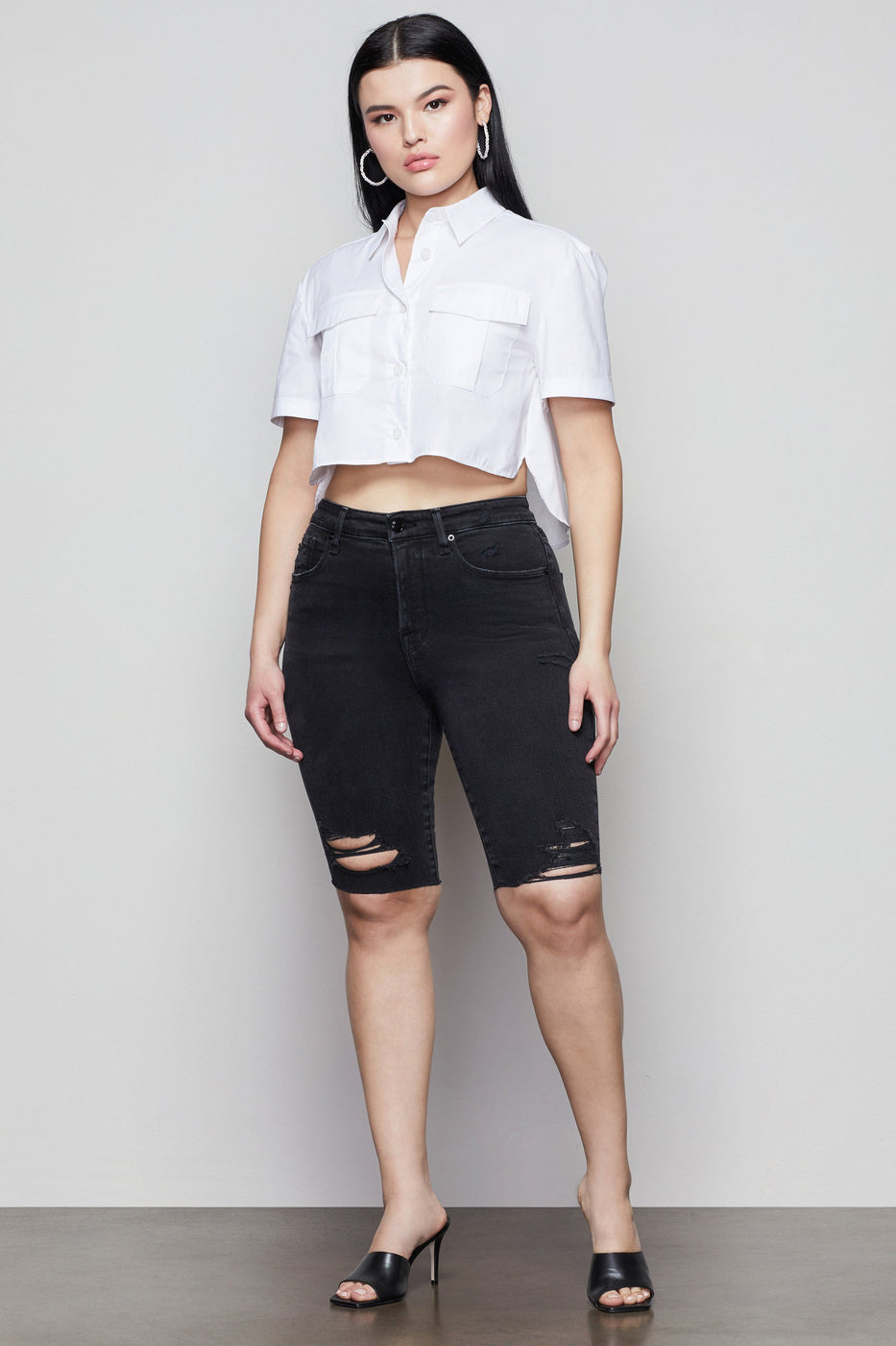 GOOD BERMUDA SHORT | BLACK088