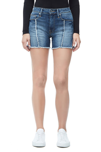 THE RAW SEAM BOMBSHELL SHORT | BLUE134