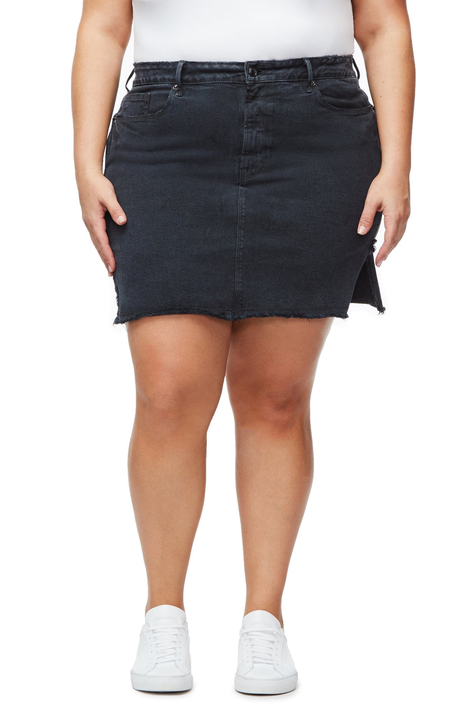 Good American The Bombshell Skirt | Black051