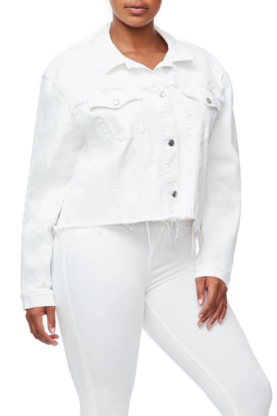 THE CROPPED BOYFRIEND JACKET | WHITE008
