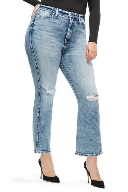 Good American Super High Waisted Blue189 Jeans