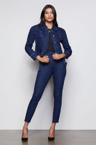 GOOD CURVE SKINNY 70S ICON | BLUE337