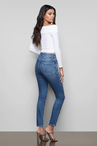 GOOD CURVE SKINNY | BLUE190