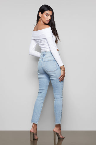 GOOD CURVE SKINNY | BLUE323
