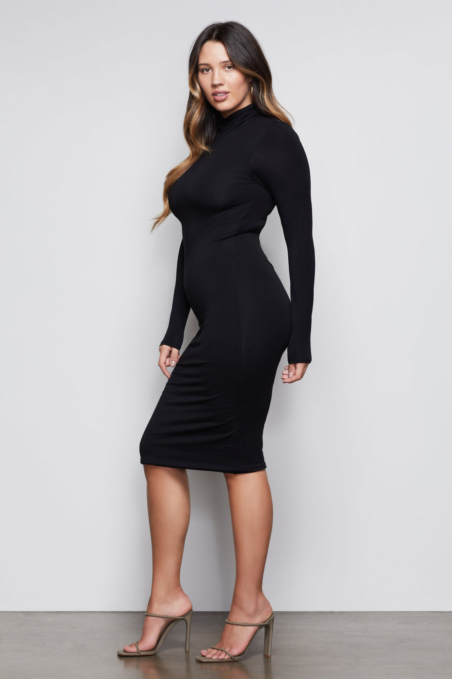 SUNDOWN BODY DRESS | BLACK001
