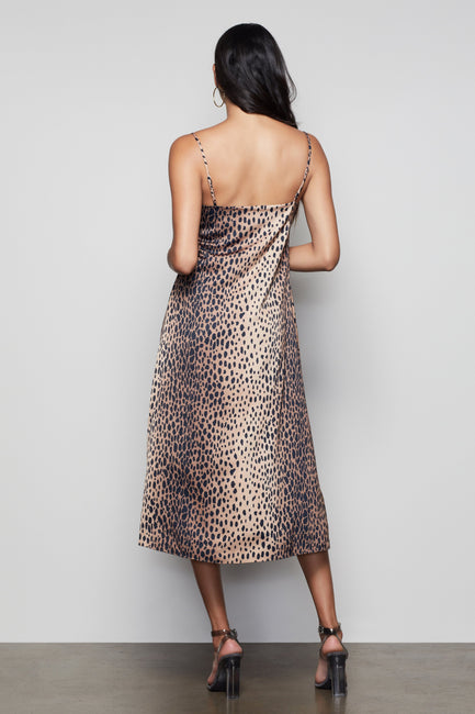 FELINE FINE TANK DRESS | CHEETAH001