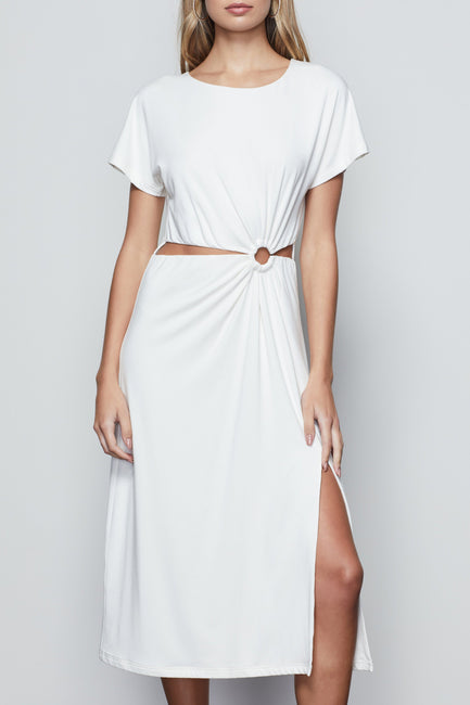 DREAMY CUT OUT DRESS | IVORY002