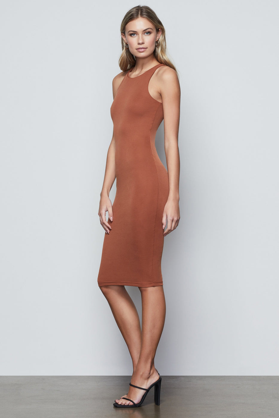 THE BODY SCULPTED MIDI DRESS | CHAI001