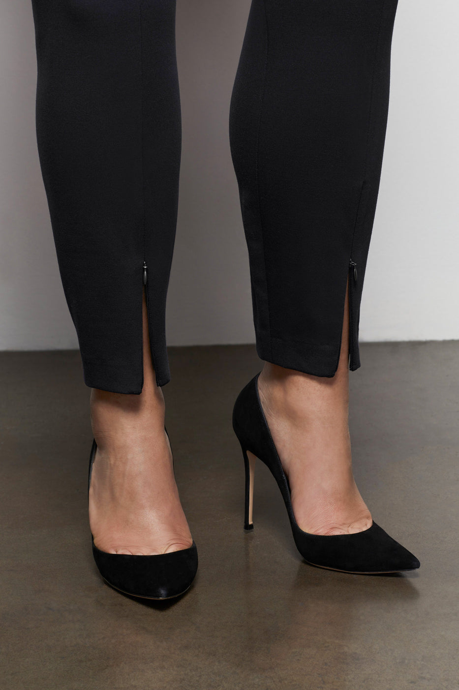 THE BOSS PANT STRAIGHT | BLACK001