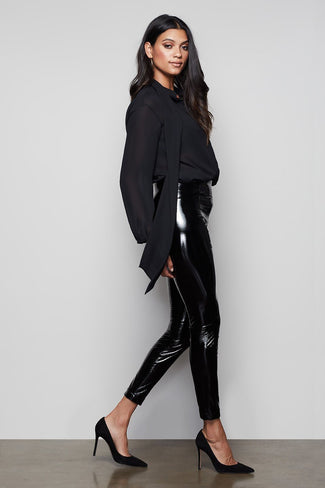 THE LIQUID BOSS PANT | BLACK082