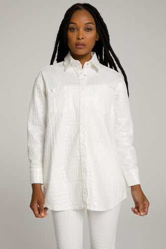 GOOD CROC SHIRT | WHITE001