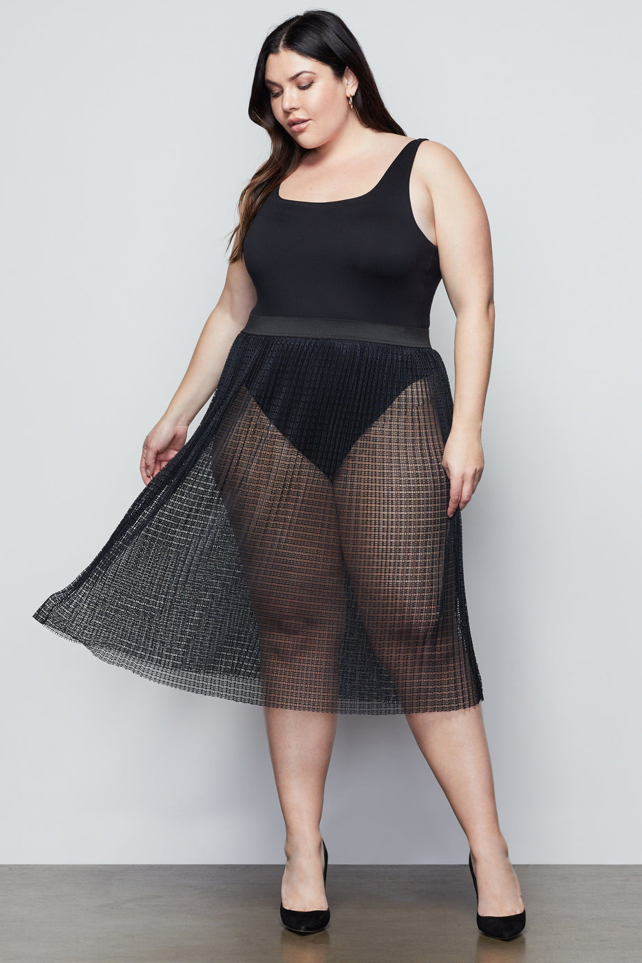 SHOW IT OFF SKIRT | BLACK001