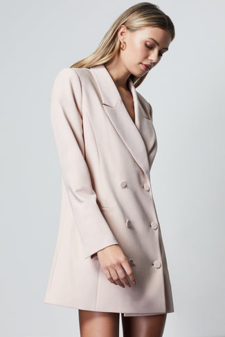 THE EXEC BLAZER DRESS | HONEY001