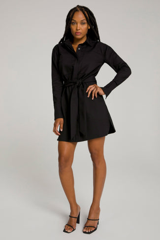COMMITTED TO FIT DRESS | BLACK001