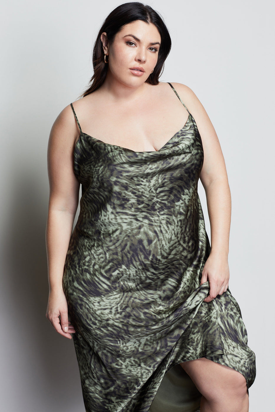 WILD NIGHT SLIP DRESS | JUNGLE001
