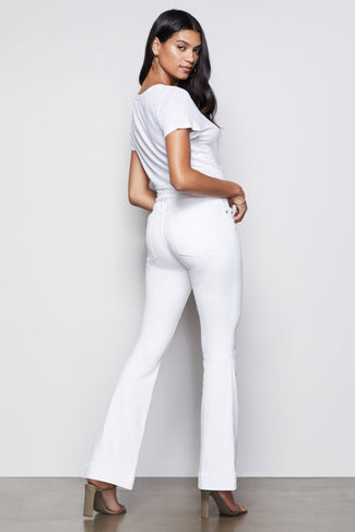 GOOD FLARE TROUSER HEM | WHITE001