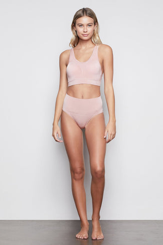 HIGH IMPACT COMPRESSION BIKINI | BLUSH001