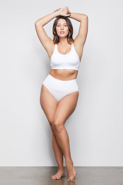 HIGH IMPACT PADDED BRA | WHITE001
