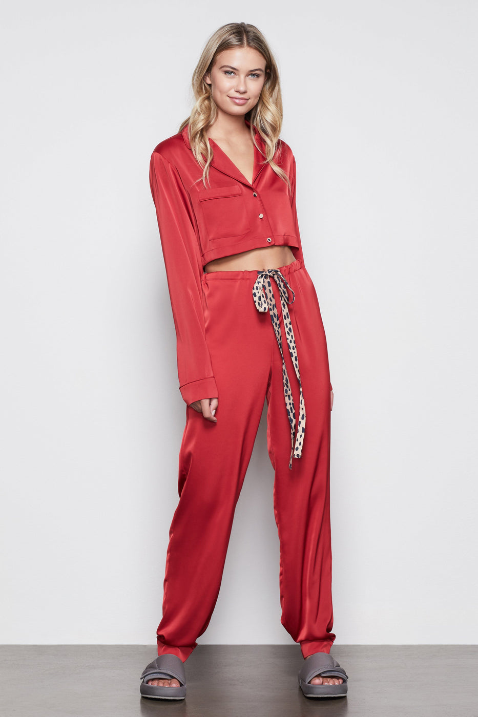 THE SATIN PJS | RED002