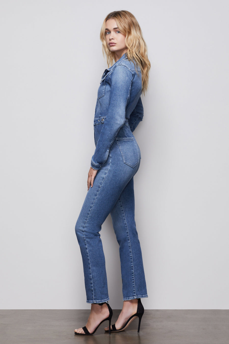THE FIT FOR SUCCESS LONG SLEEVE JUMPSUIT | BLUE421