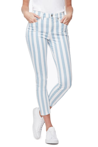 GOOD LEGS CROP STRIPE | STRIPE003