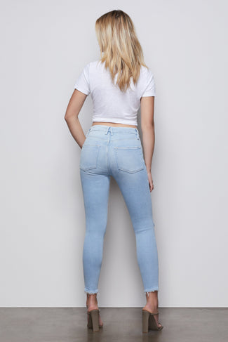 GOOD LEGS CROP | BLUE379