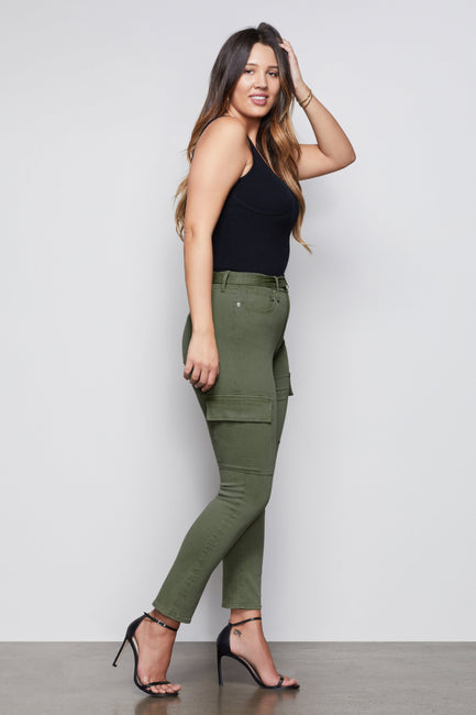 THE ON DUTY CARGO PANT | OLIVE009