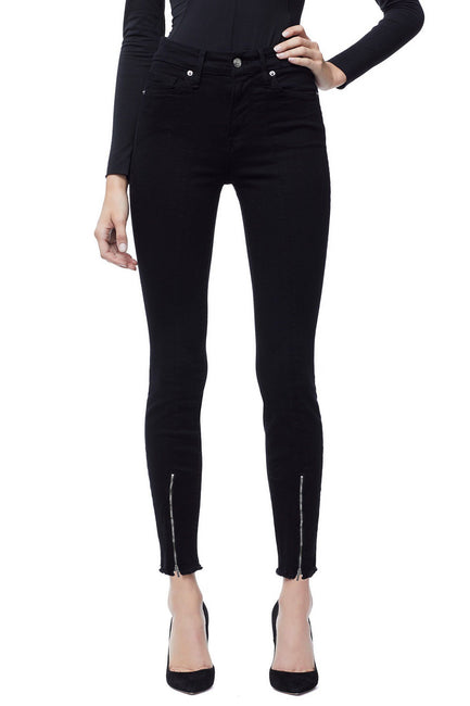 GOOD LEGS FRONT ZIP | BLACK001