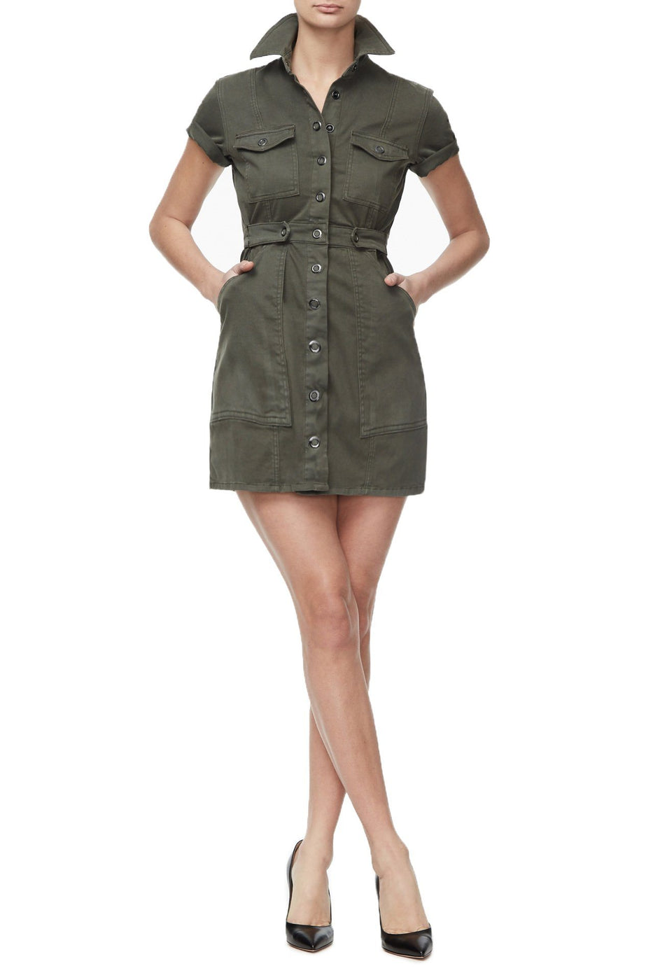THE LEAD LADY DRESS | OLIVE006