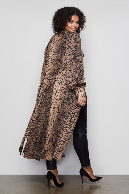 THE CHEETAH PRINT ROBE | CHEETAH001