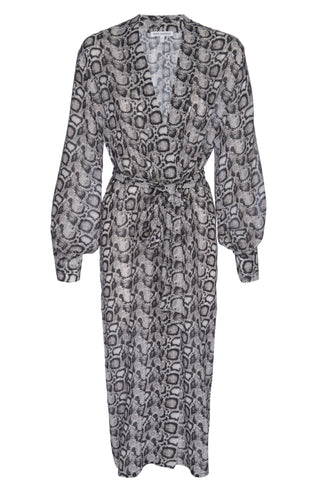 THE SHEER SNAKE SKIN ROBE | SNAKE001
