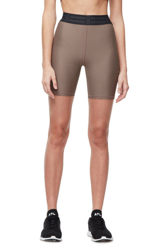 THE ICON BIKE SHORT | LATTE001