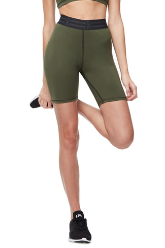 THE ICON BIKE SHORT | OLIVE002