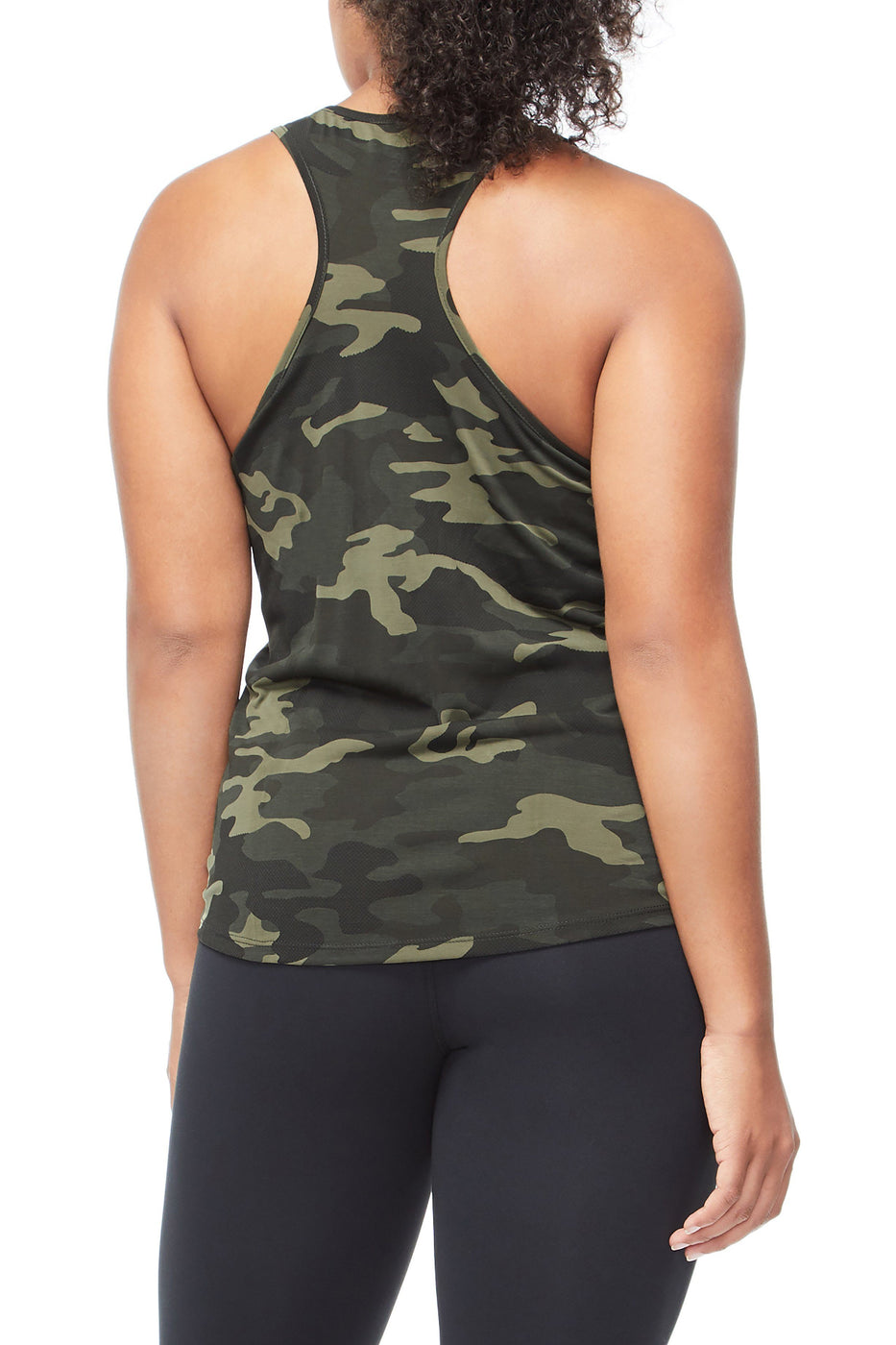 Good American The Making Moves Tank | Camo001